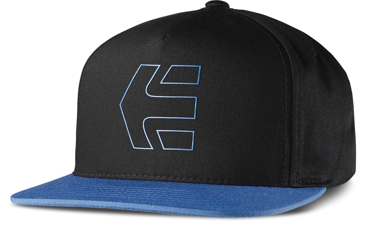 Etnies Icon 7 snapback zwart/blauw