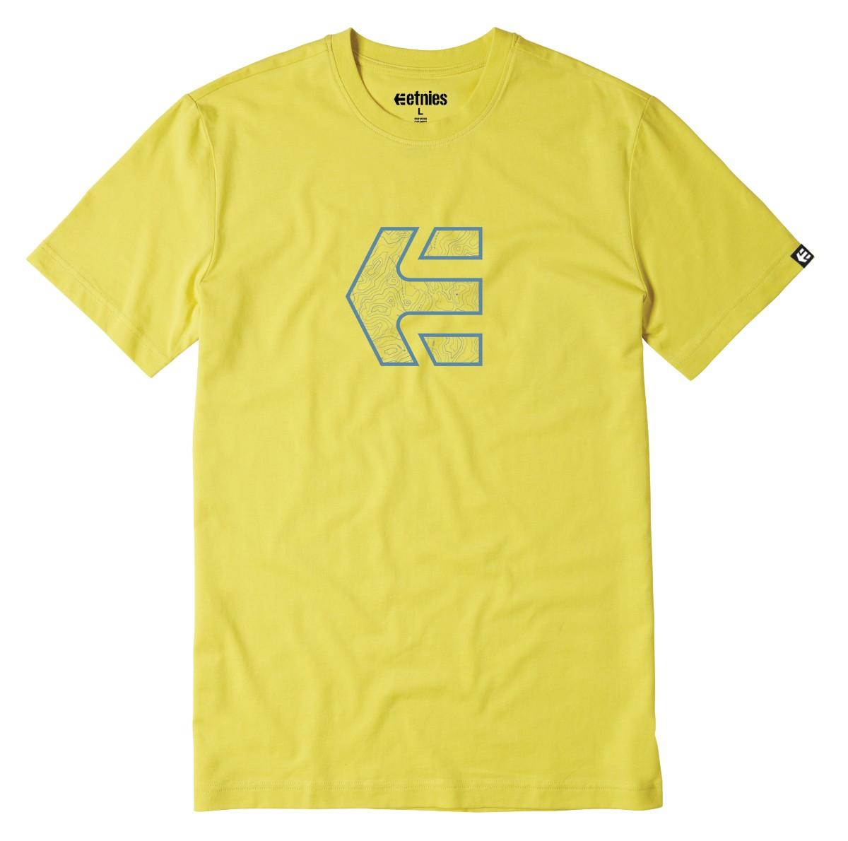 Etnies Icon Topo T-shirt geel