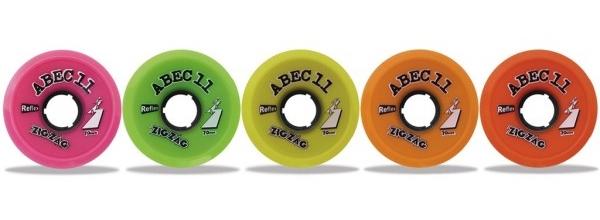 ABEC 11 ZigZags 70mm