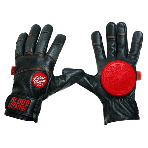 Blood Orange Slide Gloves Leather
