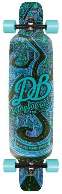 DB Longboards Single Speed V2 40 deck only