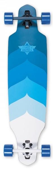 Dusters Wake Longboard Blauw