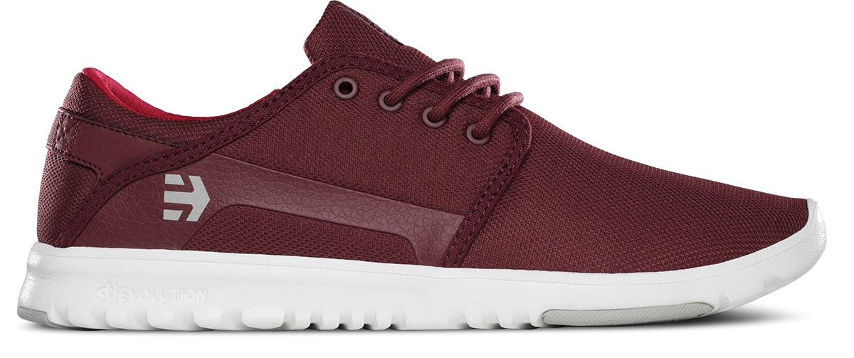 Etnies Scout bordeauxrood