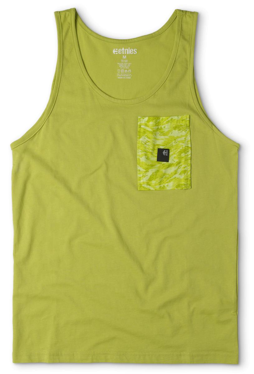 Etnies Easter Scout hemd groen/goud