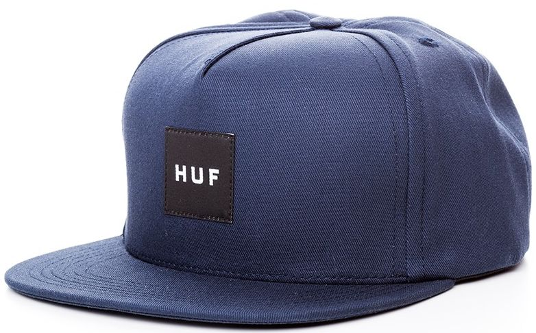 HUF Box Logo Navy