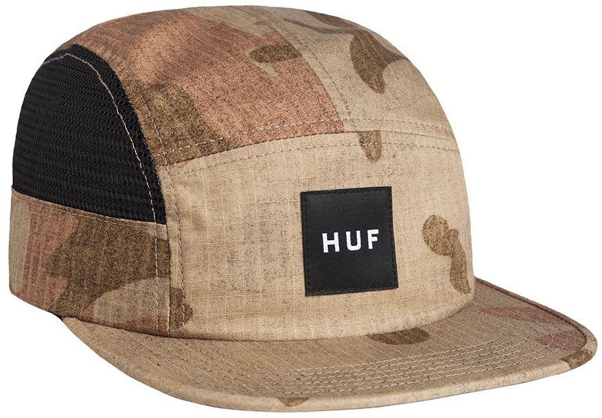 HUF Camo Ripstop Side Mesh Volley Amber