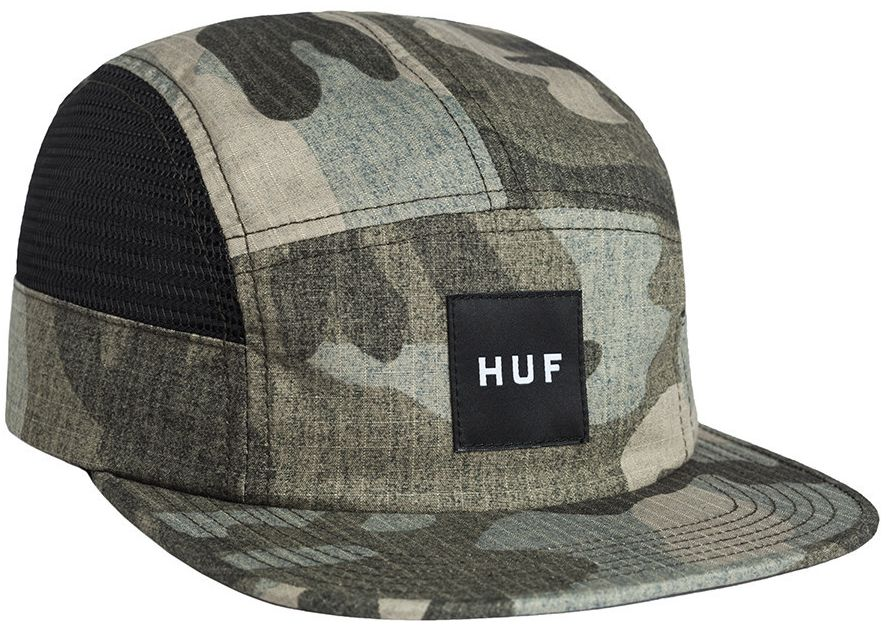HUF Camo Ripstop Side Mesh Volley Navy