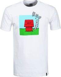 HUF Huff N Puff T-shirt wit