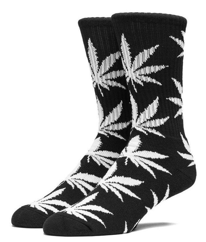 HUF Plantlife Crew sokken zwart