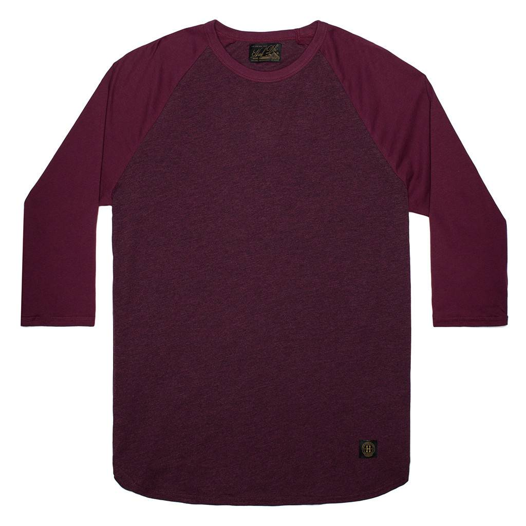 HUF Standard Issue Raglan / wine