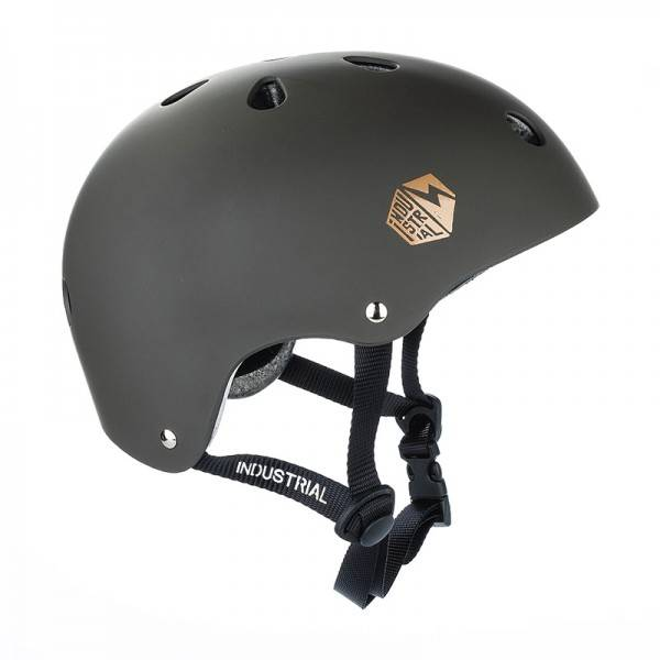 Industrial helm bruin