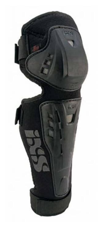 iXS Hammer knie/scheenbeschermers zwart