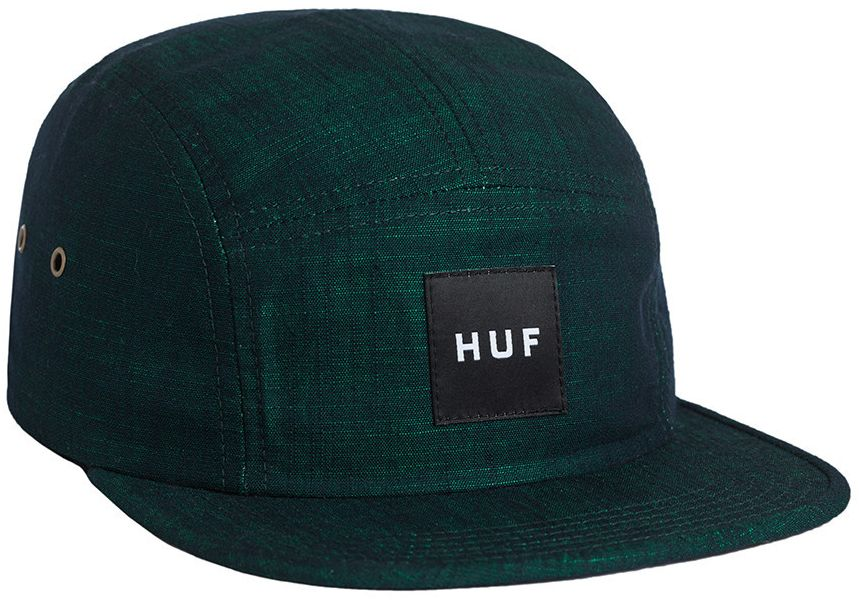 HUF Overdyed Chambray Volley Jade