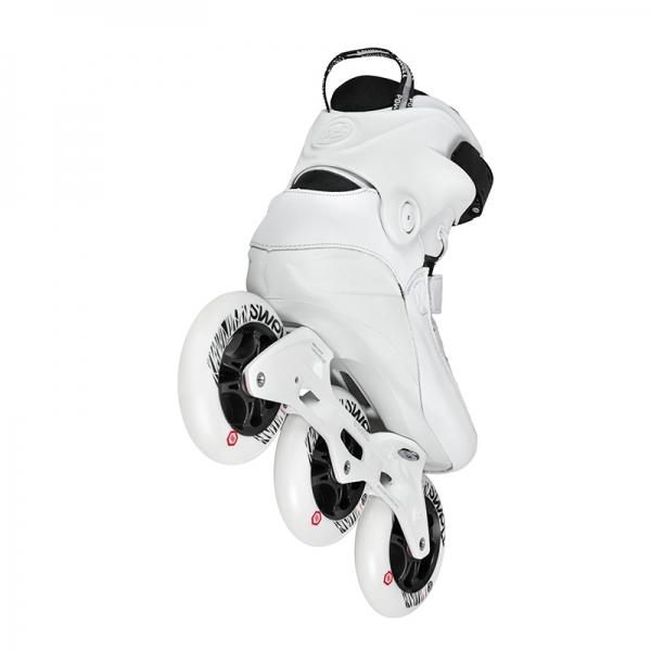 Powerslide Ultra White: Powerslide Swell Ultra White 110 TRI Inline Skates