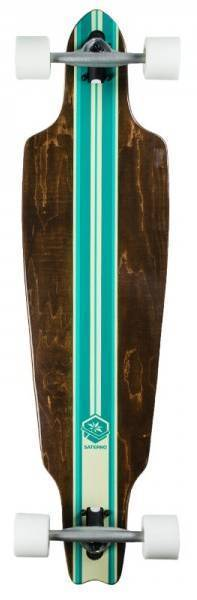 Saterno Mint Multi Stripe 38""