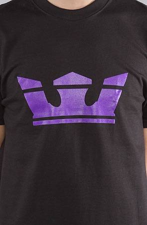 Supra Icon T-Shirt Black Purple
