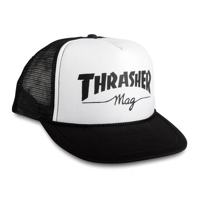 Thrasher Mag Logo Mesh Cap