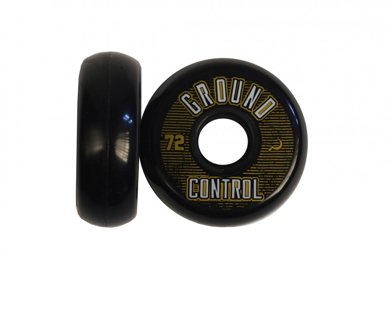 GROUNDCONTROL Wheel 72mm 90A white/gold