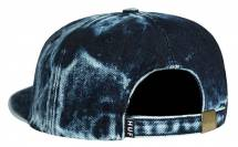 HUF Washed Script 6-panel blauw