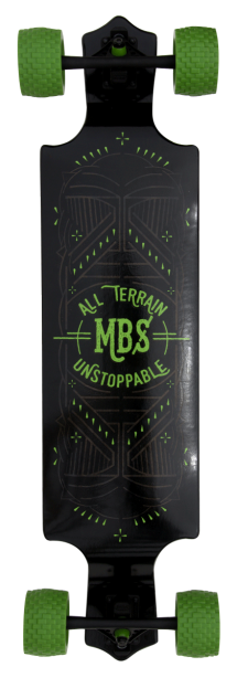 MBS All Terrain longboard