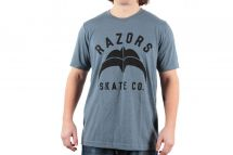 Razors T-shirt Skate Co 2 slate heather