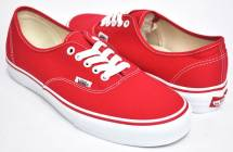 Vans Authentic Rood