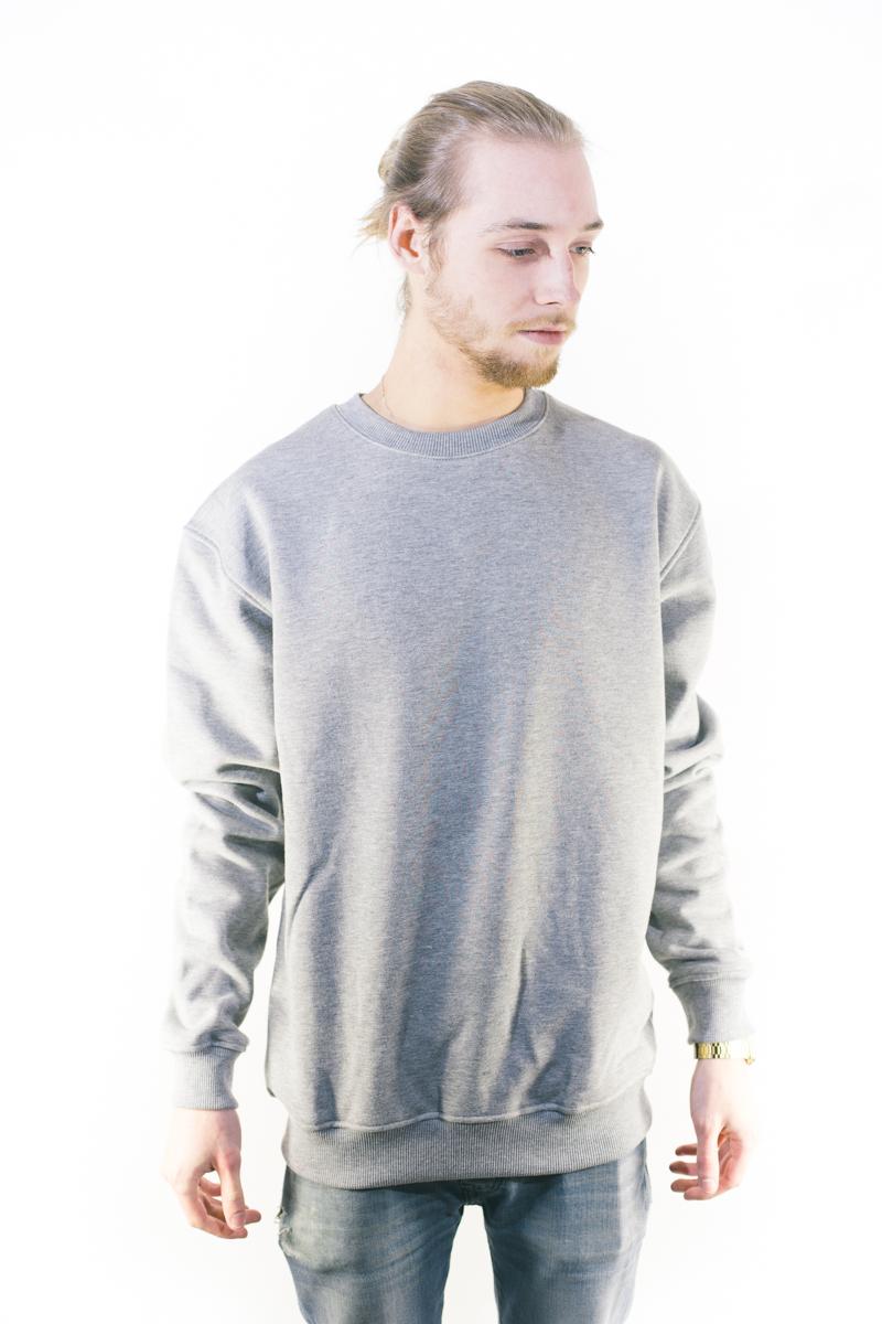 Urban Classics Crewneck Sweatshirt Grey