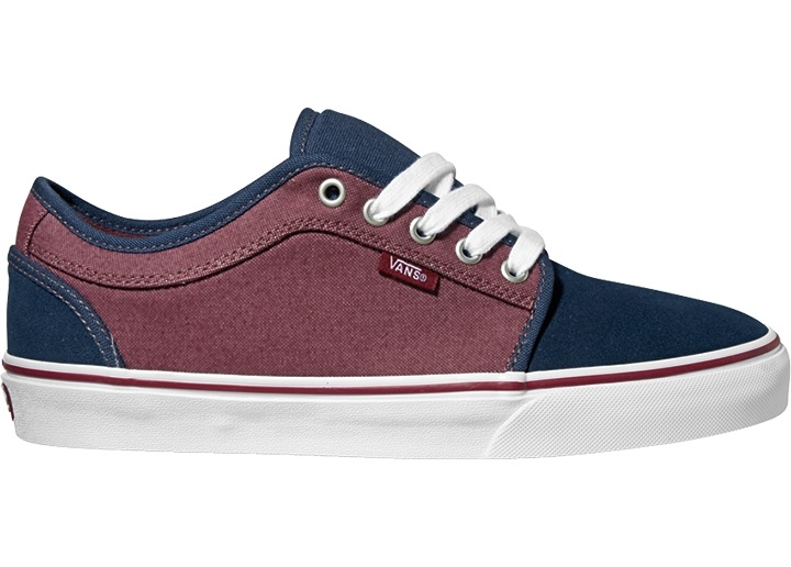 Vans Chukka Low Navy Red